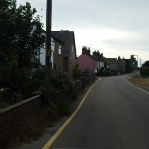 Church Road towards the Bethel Chapel and the Beach